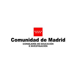COMUNIDAD DE MADRID CONSEJERÍA DE EDUCACIÓN E INVESTIGACIÓN